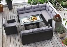 lounge gartenmöbel günstig kaufen edle dining lounge garten sitzgruppe hton rattan