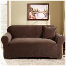 Surefit Sofa Slipcovers Leather 3d Image by Sure Fit 174 Stretch Pearson Sofa Slipcover 292823