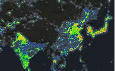 Light Pollution Map Iceland Light Pollution Around The World Brilliant Maps
