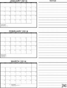Calendar Template 3 Months Per Page 3 3 Month Calendar Template Free Download