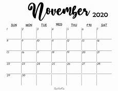 November 2020 Calendar Printable Blank November 2020 Calendar Printable Latest Calendar