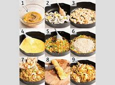 Making Fried Rice At Home is super easy. Step by step