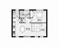 flat 60m2 1 bedroom clarendon homes floor