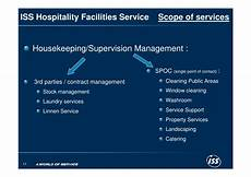 Scope Cleaning Services Iss Hospitality