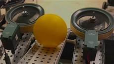 Ball Launcher Design Vex Turning Point Fly Wheel Ball Launcher Youtube