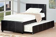 or platform bed with trundle espresso finish
