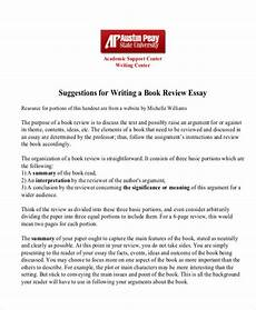 Essay Report Example Free 10 Sample Book Report Templates In Ms Word Google