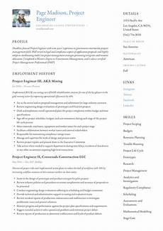 Compiling A Resume Project Engineer Resume Amp Writing Guide 12 Resume