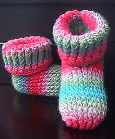 knit for kids ravelry knit look slipper boots crochet pattern childrens