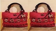 carteras bolsos y mochilas tejidas a crochet n 186 06