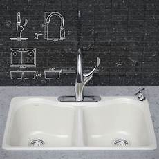 Faucets For Kitchen Sinks Kitchen Faucet And Sink Kohler 3d Cgtrader