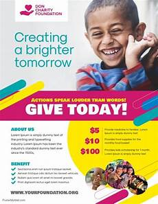 Donation Flyers Templates Free Charity Donation Flyer Poster Template Charity Donation