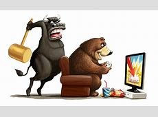 Bulls and Bears Drawing Lines in the Sand   SharePlanner