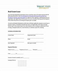 real estate lease free 21 sample lease forms pdf