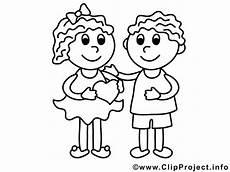 Malvorlagen Hochzeit Junge M 228 Dchen Und Junge Valentinstag Ausmalbilder F 252 R Kinder