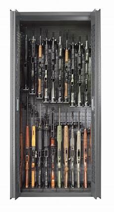 secureit tactical model 84 24 gun storage cabinet with