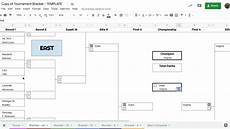 Tournament Table Template Google Sheets Tournament Bracket Tutorial Youtube