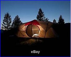 camping tent with built in lights coleman weathermaster 10 person 2 room family camping tent