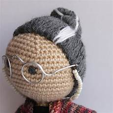 how to make crochet doll hair tutorial the c side