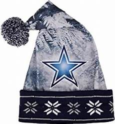 Dallas Cowboys Light Up Amazon Com Dallas Cowboys Light Up Santa Hat Sports
