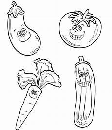 Ausmalbilder Lustiges Obst Ausmalbild Obst Und Gem 252 Se Kostenlose Malvorlage