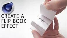 Flipping Pages Animated Cinema 4d Tutorial Create An Animated Flip Book Youtube