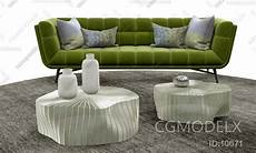 Teal Sofa Table 3d Image by Combination Of Sofa Tea Table 3d Model