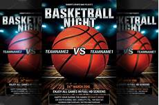 Basketball Tournament Program Template Basketball Flyer Template Flyer Templates Creative Market