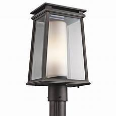 Contemporary Lantern Lighting Kichler Lighting 49404rz Lindstrom Modern Contemporary