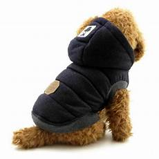 length coats for cats ranphy winter padded vest coat hoodies cat puppy cold