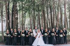elegant affair with a black and white motif wisconsin bride