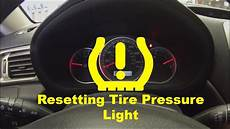 Ford Fiesta Low Tire Pressure Light Resetting Low Tire Pressure Light Youtube