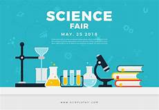 Science Fair Banner Template Science Fair Poster Banner Download Free Vectors
