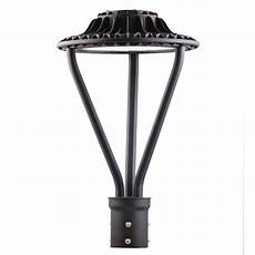 Led Outdoor Post Light Fixtures Led Area Light Post Top 75w Post Top Area Light Fixture