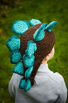 stegosaurus crochet hat i a few who will