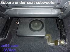 Parts Needed To Install Aftermarket Head Unit In Subaru