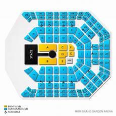Mgm Grand Las Vegas Arena Seating Chart Mgm Grand Garden Arena Seating Chart Mgm Grand Garden