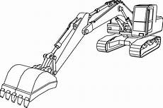 excavator drawing free on clipartmag