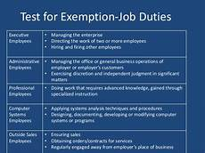 Definition Of Exempt Employees Flsa Exemptions How To Identify Exempt Employees