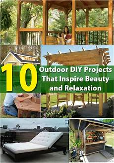 10 outdoor diy projects that inspire and relaxation