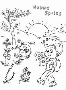 coloring pages four seasons at getcolorings free