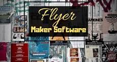 Free Flyer Making Software 6 Best Free Flyer Maker Software For Windows