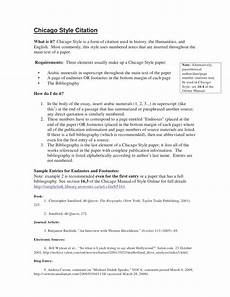 Chicago Essay Example Chicago Style