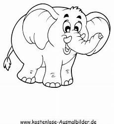 ausmalbilder elefant 1 tiere zum ausmalen malvorlagen