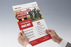 One Page Flyer One Page Marketing Flyer Template Psd