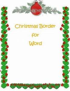 Holiday Borders For Microsoft Word Microsoft Word Christmas Borders Free Download On Clipartmag