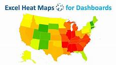 Heat Maps Dynamic Excel Heat Maps For Complex Data Dashboards Youtube