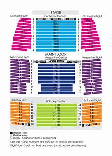 Eku Center For Arts Seating Chart House Seating Chart Niswonger Performing Arts Center