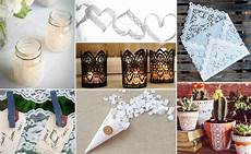 7 lace inspired diy wedding projects for any reception style