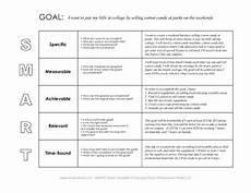 Example Of Goals Free Smart Goals Template Pdf Amp Smart Goals Example